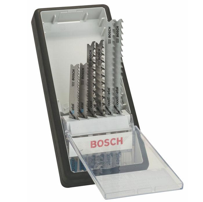 Набор пилок по металлу и дереву Bosch, Т-образный хвостик, 6 шт2607010531