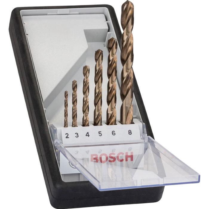 Набор сверл по металлу Bosch HSS-CO, 6 шт2607019924