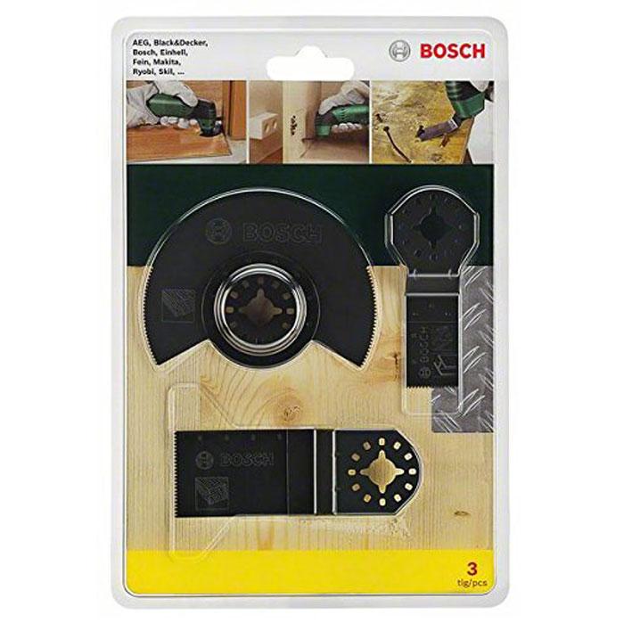 Набор оснастки по дереву Bosch для PMF, 3 шт2607017323