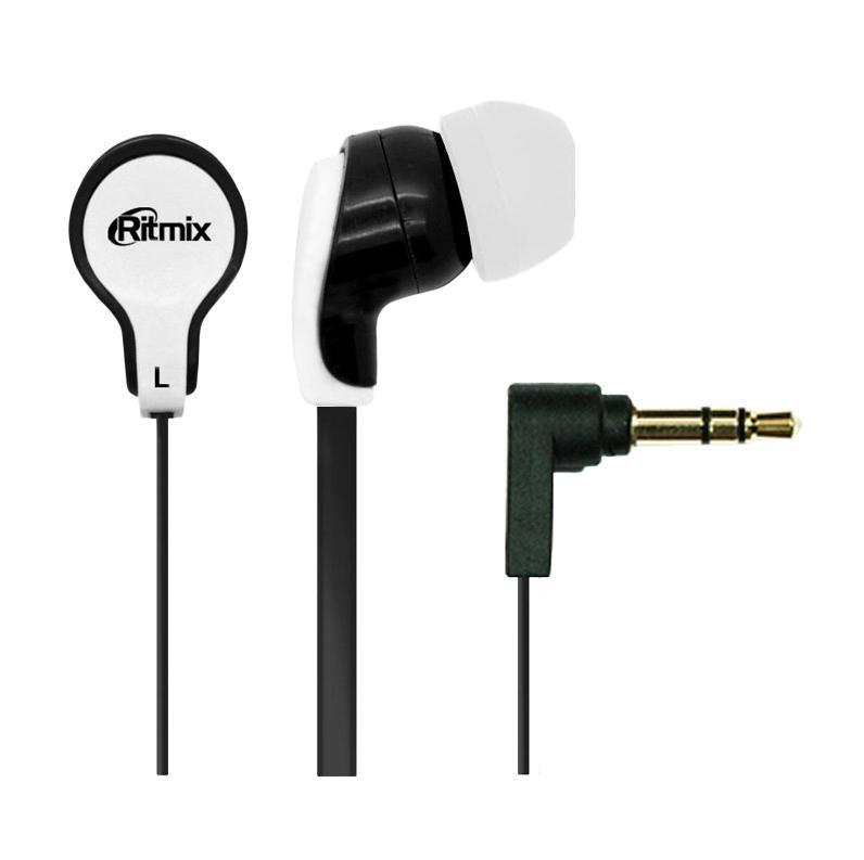 Ritmix RH-183, Black White наушникиRH-183, Black WhiteRitmix RH-183 – это портативные наушники-вкладыши с плоским проводом. Модель характеризуется качественным сбалансированным звучанием.