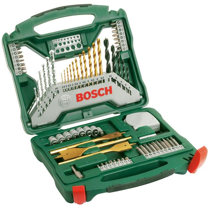 Набор бит и сверл Bosch X-Line, 70 предметов