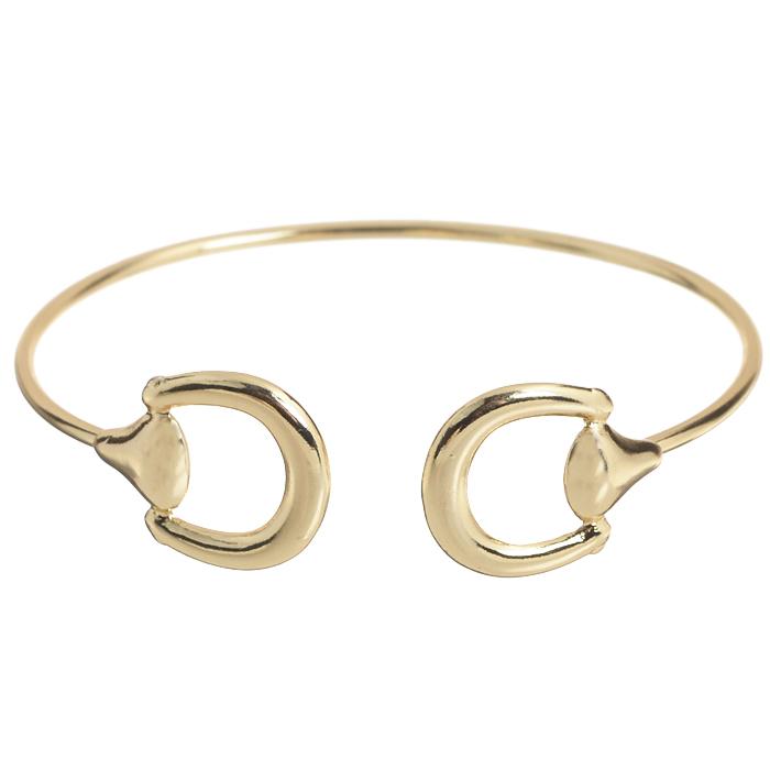 Браслет Bora, цвет: золотой. T-B-8420-BRAC-GOLDT-B-8420-BRAC-GOLDЛаконичный женский браслет AtStyle247 выполнен из металлического сплава меди, цинка и железа. Модель оформлена декоративными элементами округлой формы. Металлический каркас обеспечивает прилегание модели к руке. Красивый и необычный браслет блестяще подчеркнет ваш изысканный вкус и поможет внести разнообразие в привычный образ.