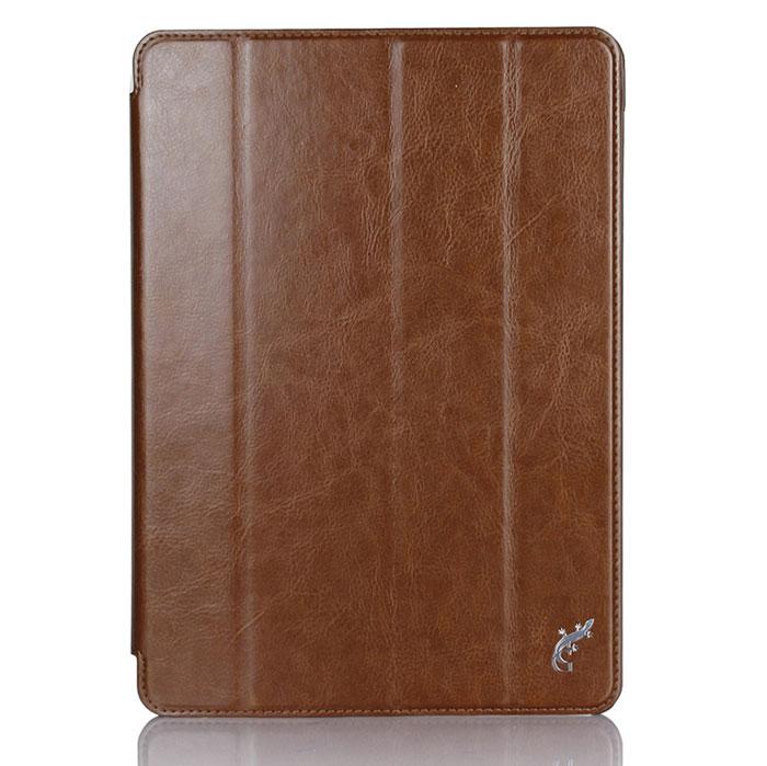 G-Case Slim Premium чехол для iPad Air 2, BrownGG-498Чехол G-Case Slim Premium для iPad Air 2 - это стильный и лаконичный аксессуар, позволяющий сохранить устройство в идеальном состоянии. Надежно удерживая технику, обложка защищает корпус и дисплей от появления царапин, налипания пыли и других механических повреждений. Также чехол можно использовать для просмотра видео или чтения книг. Имеет свободный доступ ко всем разъемам устройства.