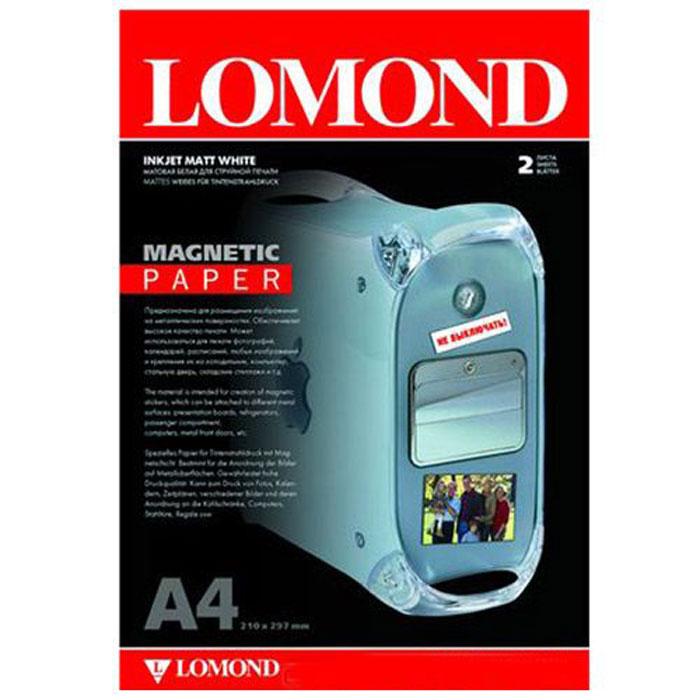 Lomond Magnetic Paper A4/2л материал с магнитным слоем, матовый2020346Тип покрытия: Ink Jet Coated Лицевая поверхность: Матовая (Matt) Обратная поверхность: Магнитный слой Толщина: 325 мкм Размеры: 210 х 297 мм