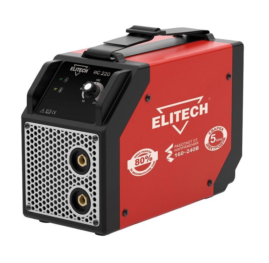 Инвертор сварочный Elitech ИС 220ИС 220ИС 220 - это однофазный сварочный инвертор для ручной дуговой сварки штучными плавящимися электродами (MMA). Данный инвертор создан по самой современной технологии IGBT, которая обеспечивает стабильную дугу и качественный сварной шов. Аппарат имеет возможность производить сварку электродом диаметром 5мм! Применяется для сварки углеродистых, низколегированных, нержавеющих сталей и чугуна. Используемые электроды: рутиловые, основные, для чугуна и нержавеющей стали. ОБЛАСТЬ ПРИМЕНЕНИЯ: Сварочный инвертор ИС 220 предназначен для проведения периодических строительных и ремонтных работ. ИДЕАЛЬНЫЙ ВАРИАНТ для использования дома, в гараже, на даче или в сельской местности. ПРЕИМУЩЕСТВА: РАБОТА ОТ ПОНИЖЕННОГО НАПРЯЖЕНИЯ 160 ВОЛЬТ!!! Позволяет использовать аппарат в таких местах, где напряжение существенно ниже нормы (удаленные населенные пункты, сельская местность, дачи, гаражи, базы и прочие объекты), где обычный инвертор не сможет работать. ...
