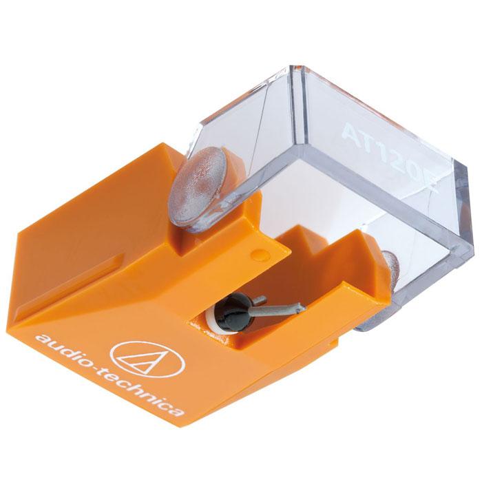 Audio-Technica ATN120EBL игла звукоснимателя15116968Audio-Technica ATN120EBL - сменная игла с алмазным наконечником эллиптической формы 0,3 х 0,7 мм для популярной головки звукоснимателя Audio-Technica AT120E или Audio-Technica AT120ET. Иголка полностью аналогична той игле, которой комплектуются на заводе перечисленные головки. Игла может работать в режиме 16, 33 или 45 об/мин. Не поддерживается режим 78 об/мин. Рекомендованная прижимная сила от 1 до 1,8 г.