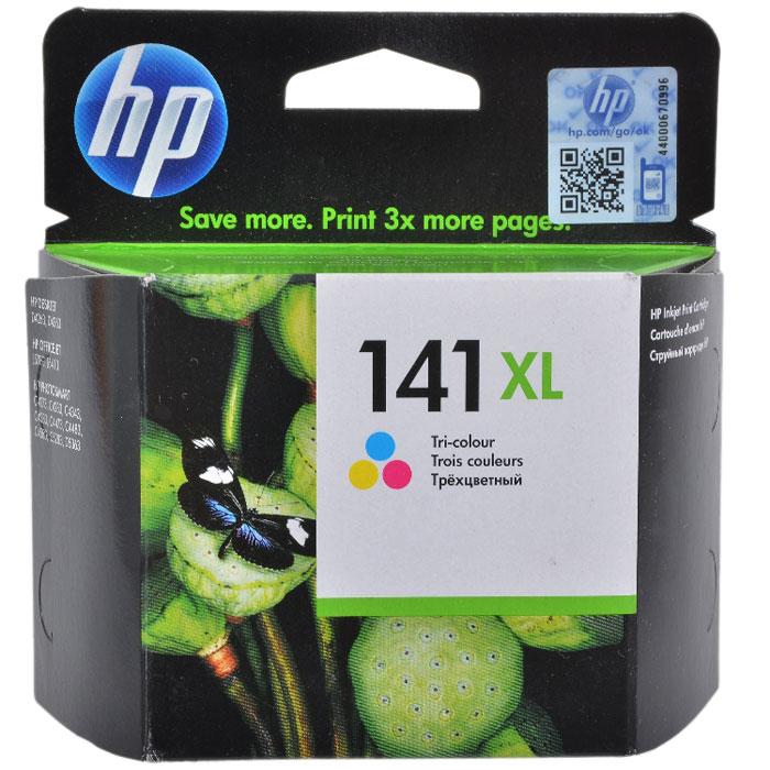 HP CB338HE (141 XL) картридж для струйного принтераCB338HEЭкономичный картридж HP 141 XL с цветными (3 цвета) чернилами Vivera для принтеров HP Photosmart 8053 позволяет максимально экономично получать чёткие, долговечные, живые цвета при высокопроизводительной печати. Этот картридж HP большой ёмкости обеспечивает превосходное качество печати и неизменно высокую производительность.