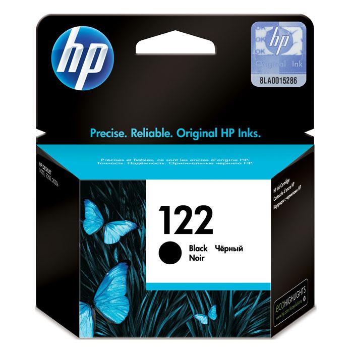 HP CH561HE (122), Black картридж для струйного принтераCH561HEКартридж HP 122 с черными чернилами для печати черно-белых текстов. Печатайте текстовые документы на уровне лазерных устройств и четкие изображения, устойчивые к выцветанию в течение многих десятилетий с картриджами HP. Доверьтесь надежной работе оригинальных картриджей HP. Каждый оригинальный картридж НР является принципиально новым и гарантирует великолепное качество печати. Доступная и надежная печать каждый день Наилучшее качество с оригинальными чернилами HP