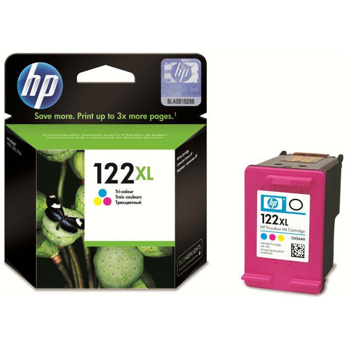 HP CH564HE (122XL),Ttri-color картридж для струйного принтераCH564HEТрехцветные картриджи HP 122XL предлагают ряд удобных функций и гарантируют надежные результаты. Экономичная печать великолепных цветных документов, отчетов и писем.