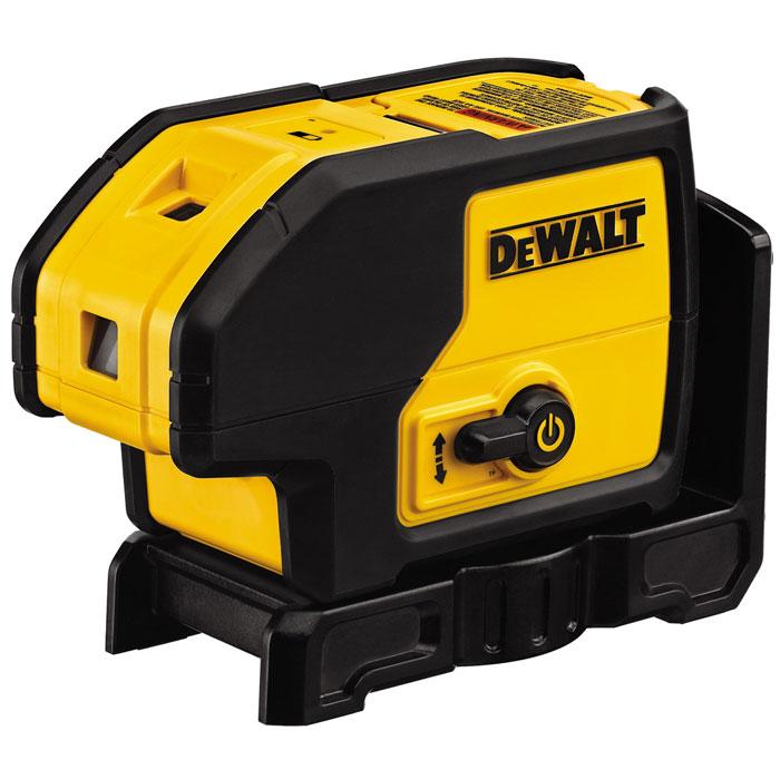 Уровень лазерный DeWALT DW 083 K, 30 м177139Самовыравнивающийся трехлучевой лазерный уровень DeWALT DW 083 K с точностью +/-0.2мм/м. Самовыравнивание в пределах 0-4 градуса Всего одна кнопка - быстрое и легкое управление прибором При выключенном положении прибора маятниковый отвес блокируется, что увеличивает надежность при перемещении и транспортировке Лазерный луч фокусируется в маленькую точку, что увеличивает точность на большом расстоянии Встроенный магнит позволяет располагать прибор на металлических поверхностях или крепить к другим материалам с помощью кронштейна Прочный корпус и индустриальный дизайн позволяет ипользовать прибор в суровых условиях строительной площадки Прибор может поворачиваться на 180 градусов
