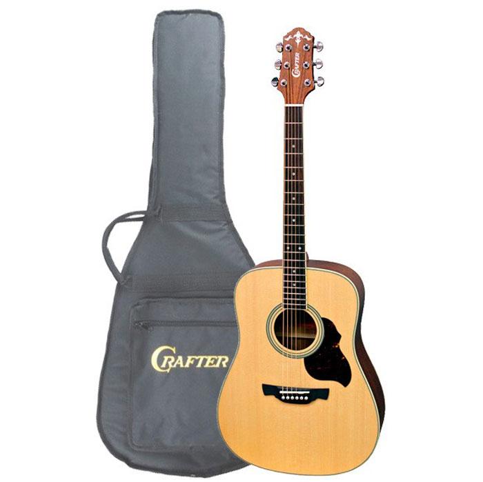 Crafter D-6/N акустическая гитара + чехол ( D 6/N )