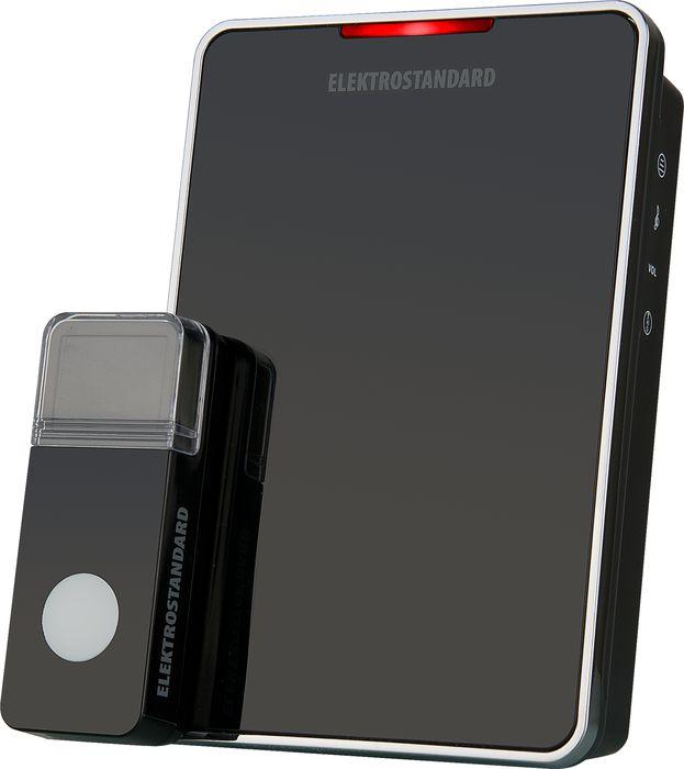 Elektrostandard звонок беспроводной DBQ04M, цвет: черный