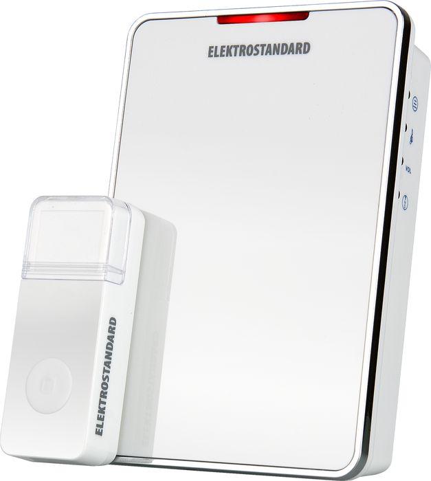 Elektrostandard звонок беспроводной DBQ05M, цвет: белыйa026145Данная модель рассчитана на работу от элементов питания типа АА. Это позволяет устанавливать звонок в любом месте квартиры или коттеджа и при необходимости легко перемещать его. Благодаря минимальному энергопотреблению, стандартный комплект элементов питания обеспечит работу звонка до 3 лет при средней частоте срабатывания 5 раз в день. Режимы работы звонка: 1. звуковой + световой сигналы; 2. звуковой сигнал; 3. световой сигнал. Особенности: Регулятор громкости; Световая индикация.