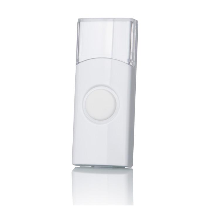 Кнопка для беспроводного звонка Elektrostandard - DBB01WL, цвет: белый