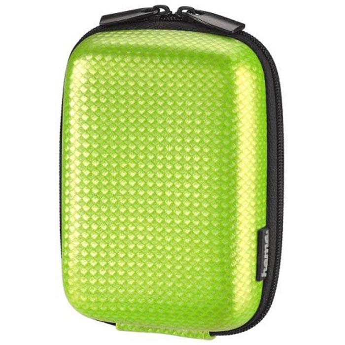 Hama Carbon Style 60L, Green чехол для фотокамеры023143Сумка Hama Carbon Style 60L для цифровой фотокамеры. Имеет внутреннее отделение для карт памяти, ремешок для переноски с карабином. Также оснащена петлей для ношения на поясе. Жесткий корпус.