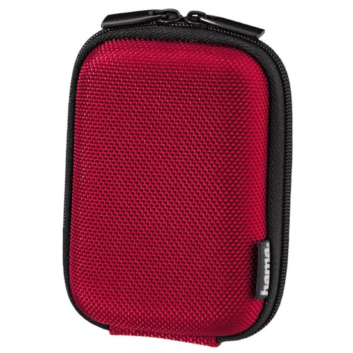 Hama Hardcase Colour Style 40G, Red чехол для фотокамеры023146Чехол Hama Hardcase Colour Style 40G для цифровой фотокамеры. Имеет отделение для карт памяти и аксессуаров, ремешок для переноски. Также оснащен петлей для ношения на поясе.