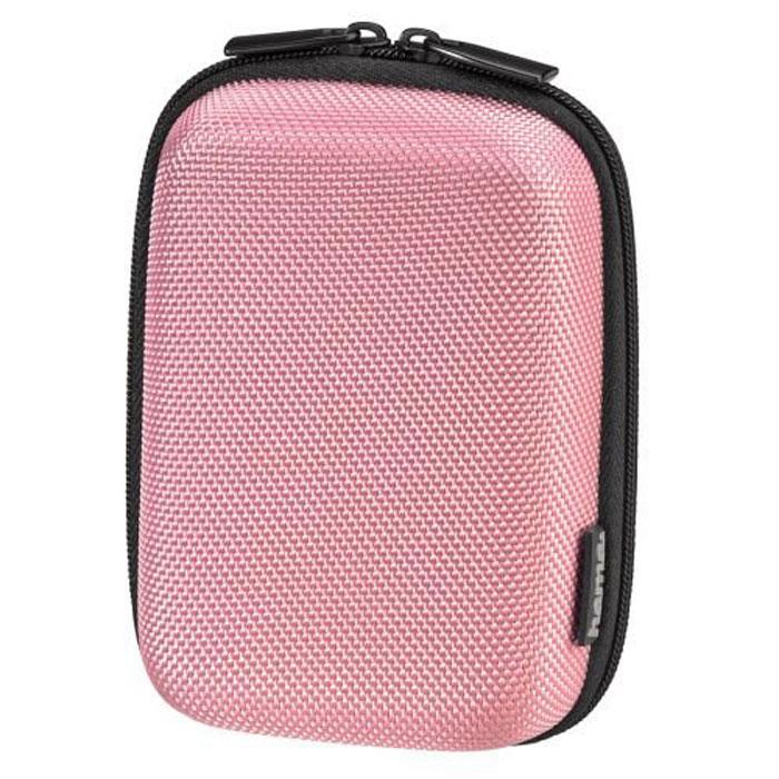 Hama Hardcase Colour Style 60L, Pink чехол для фотокамеры023153Сумка Hama Hardcase Colour Style 60L для цифровой фотокамеры. Имеет отделение для карт памяти и аксессуаров, ремешок для переноски. Так же оснащена петлей для ношения на поясе.