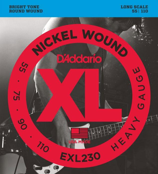 D'Addario EXL230 струны для бас-гитары