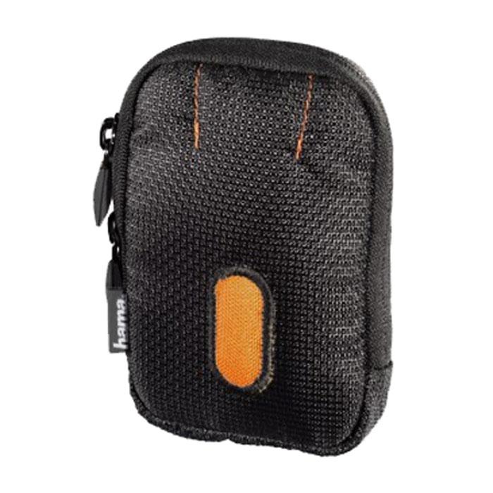 Hama Sorento 60C, Black Orange чехол для фотокамеры023103Hama Sorento 60C - удобный и компактный чехол для фотокамеры, который надежно сохранит аппарат в целости и сохранности, значительно увеличив срок его службы. Мягкая внутренняя подкладка надежно защищает камеру от царапин. Изделие также оснащено петлей для ношения на поясе.