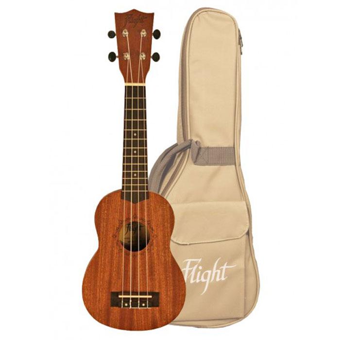 Flight NUS 310 укулелеNUS 310Flight NUS 310 - гавайская четырёхструнная гитара в корпусе выполненном из пород сапеле. Гриф инструмента изготовлен из породы древесины окуме. Насадка на гриф сделана из палисандра. Эта оригинальная гитара станет прекрасным подарком для любителей необычных вещей и музыкальных инструментов.
