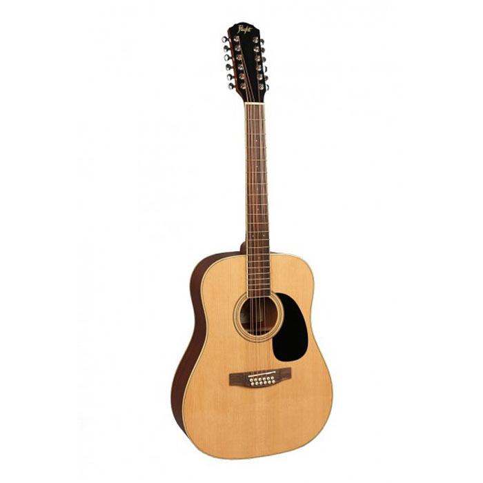 Flight W 12701/12 NA, Natural 12-струнная акустическая гитара