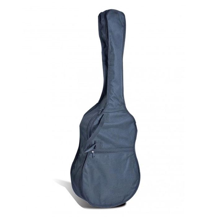 Flight FBG-6034 чехол для гитарыHA-CG34-AЧехол Flight FBG-6034 для гитары 1/2 изготовлен из плотной синтетической ткани Оксфорд 600. Специальная конструкция этой ткани обеспечивает прочность, износостойкость изделию и придает ему водоотталкивающее свойство. Чехол Flight FBG-6034 обеспечивает защиту от легких повреждений, влаги и перепадов температуры. Чехол имеет скромные габариты и массу, что является несомненным его преимуществом. Он прекрасно подойдет для хранения гитары в домашних условиях, также может быть использован для ее транспортировки.