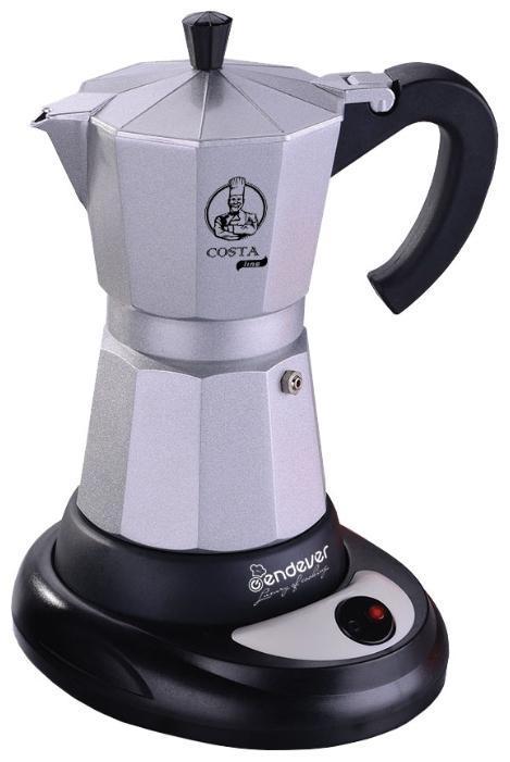 Endever Costa-1010 гейзерная кофеварка