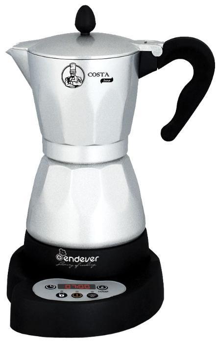 Endever Costa-1030 гейзерная кофеварка
