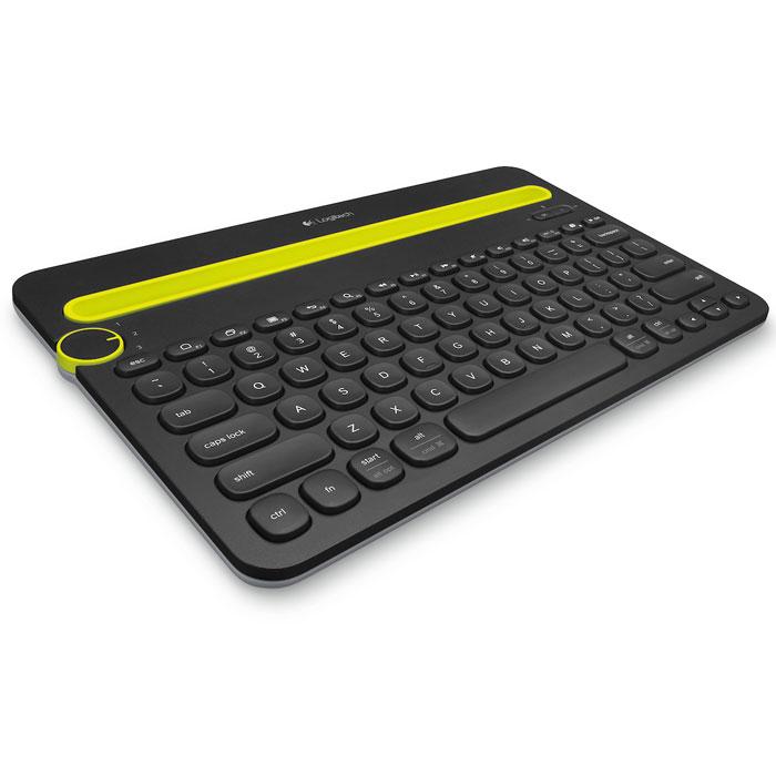 Logitech K480, Black беспроводная клавиатура