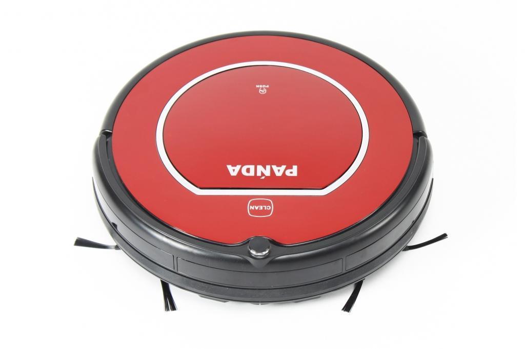 Panda X500 Pet Series, Red робот-пылесосX500 RedРобот-пылесос Panda X500 Pet Series легко и быстро наведет порядок дома. Встроенный аккумулятор с возможностью работы до 110 минут позволяет очистить всю необходимую поверхность. 12 датчиков позволяют пылесосу легко ориентироваться в пространстве. Высота корпуса пылесоса составляет всего 10 см, благодаря чему он способен проникать даже в труднодоступные места. Устройство оснащено боковыми щетками, легко собирая пыль и шерсть домашних животных в местах ее наибольшего скопления. Уборку можно программировать по расписанию. Помимо автоматической работы, возможно управление при помощи дистанционного пульта.