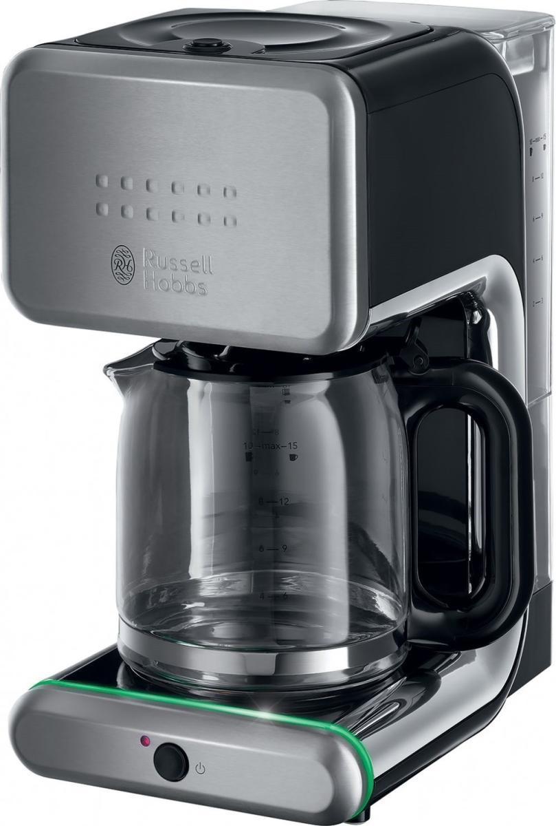 Russell Hobbs 20180-56 Illumina кофеварка20180-56 IlluminaRussell Hobbs 20180-56 - прекрасная кофеварка с интересным дизайном. Это уникальная система, обеспечивающая простоту и быстроту получения чашки превосходного натурального кофе. Кофеварка Russell Hobbs 20180-56 - достойный вариант для любого дома.