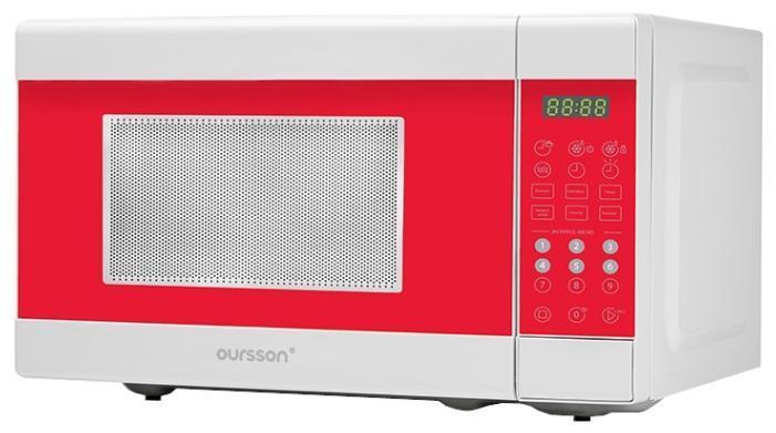 Oursson MD2045, Red СВЧ-печьRedПосле покупки этой микроволновой печи Вас будет мучить только один вопрос: как я обходился без нее раньше? Компактная, с объемом камеры 20 л и диаметром поворотного стола 255 мм, и предусмотрительная - со специальными автоматическими программами и с таймером на 99 минут, эта печь поможет приготовить, согреть, разморозить любые блюда. Мощность регулируется - можно выбрать один из 10 уровней регулировки. А если Вы – счастливый родитель, то блокировка от детей станет решающим аргументом при выборе СВЧ-печи.