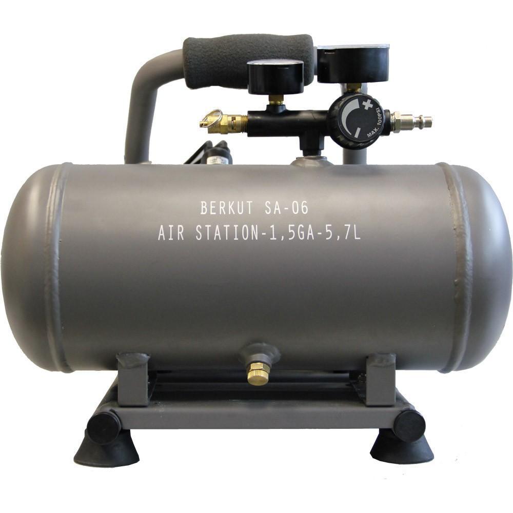 Компрессор автомобильный BERKUT SA-06SA-06Технические характеристики: - Напряжение питания: 12 В - Максимальный ток потребления: 30 A - Максимальное давление компрессора: 14 атм (BAR) - Рабочее давление пневмостистемы: 0 - 7,25 атм (BAR) - Максимальная производительность: 72 л/мин - Рабочая производительность: 46-32 л/мин (5,8-7,25 BAR) - Время непрерывной работы: 30 мин - Диапазон рабочих температур: -30 °C +80 °C - Уровень шума: ...