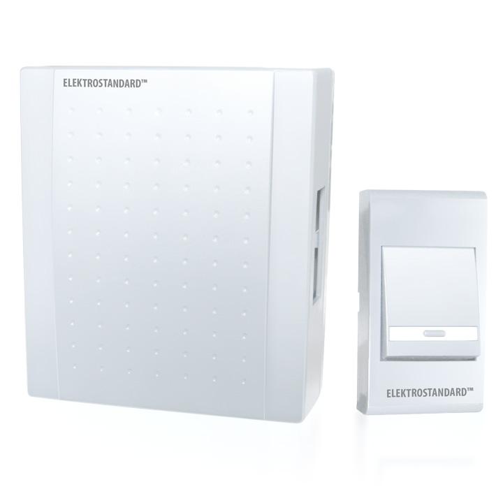 Звонок электромеханический Elektrostandard DBQ15 WM 1M IP44 Белый