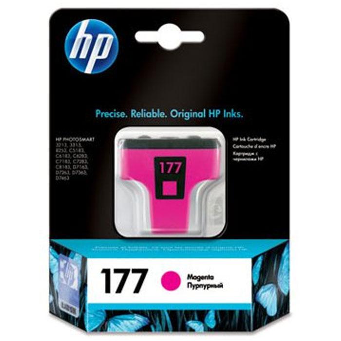 HP C8772HE (177), Magenta струйный картриджC8772HEКартридж HP 177 с чернилами Vivera для струйных принтеров HP PhotoSmart.