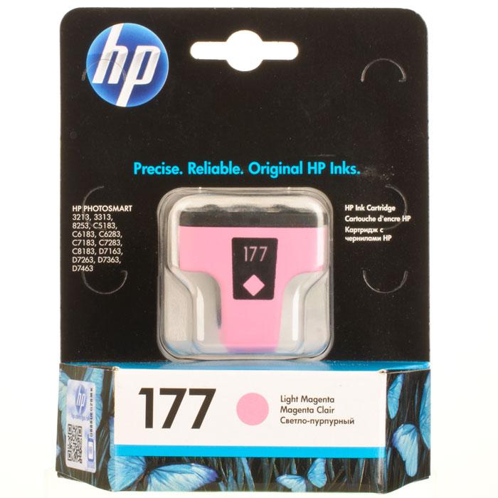 HP C8775HE (177), Light Magenta струйный картриджC8775HEКартридж HP 177 с чернилами Vivera для струйных принтеров HP PhotoSmart.