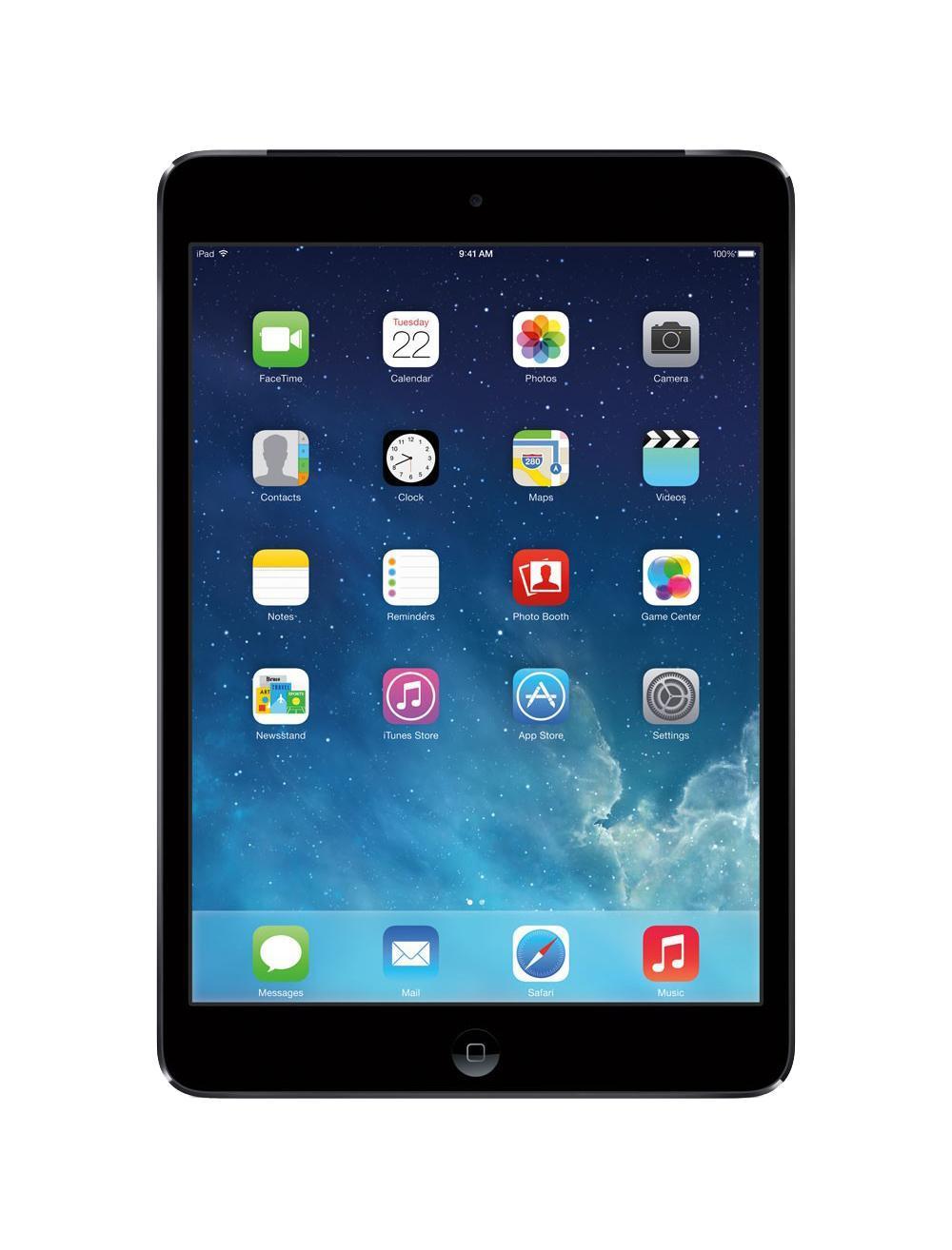 Apple iPad mini 2 Wi-Fi + Cellular 32GB, Space GrayME820RU/AМощный процессор A57 Процессор A7 имеет 64-разрядную архитектуру класса настольных компьютеров и отличается от предыдущих поколений передовыми графическими возможностями и улучшенной обработкой сигнала изображения. Благодаря четырехкратному приросту производительности центрального и восьмикратному графического процессоров на iPad mini с дисплеем Retina любые задачи выполняются быстрее и эффективнее - от загрузки приложений и редактирования фотографий до игр со сложной графикой, при этом заряда аккумулятора по-прежнему хватает на весь день. Процессор А7 с 64-битной архитектурой и поддержкой OpenGL ES версии 3.0 обеспечивает визуальные эффекты на уровне игровой консоли. Кроме того, iPad mini оснащен сопроцессором движения M7, который собирает данные с датчика ускорения, гироскопа и компаса, чтобы разгрузить процессор A7 и повысить энергоэффективность. Дисплей идеального размера с подсветкой LED. На дисплее Retina нового iPad mini...