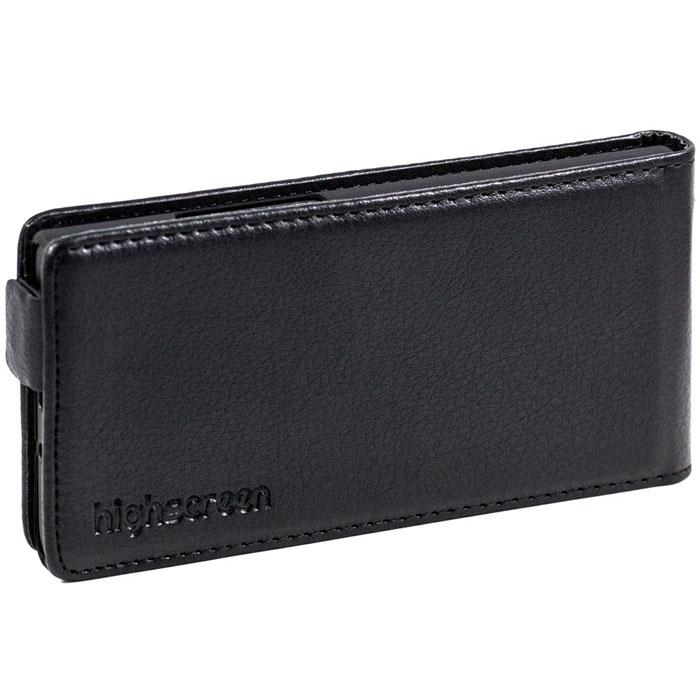 Highscreen Flip Case оригинальный чехол для Zera S, Black22003Чехол с откидной крышкой Highscreen Flip Case для Zera S надежно защищает ваш смартфон от внешних воздействий, грязи, пыли, брызг. Он также поможет при ударах и падениях, не позволив образоваться на корпусе царапинам и потертостям. Чехол обеспечивает свободный доступ ко всем функциональным кнопкам смартфона и камере.