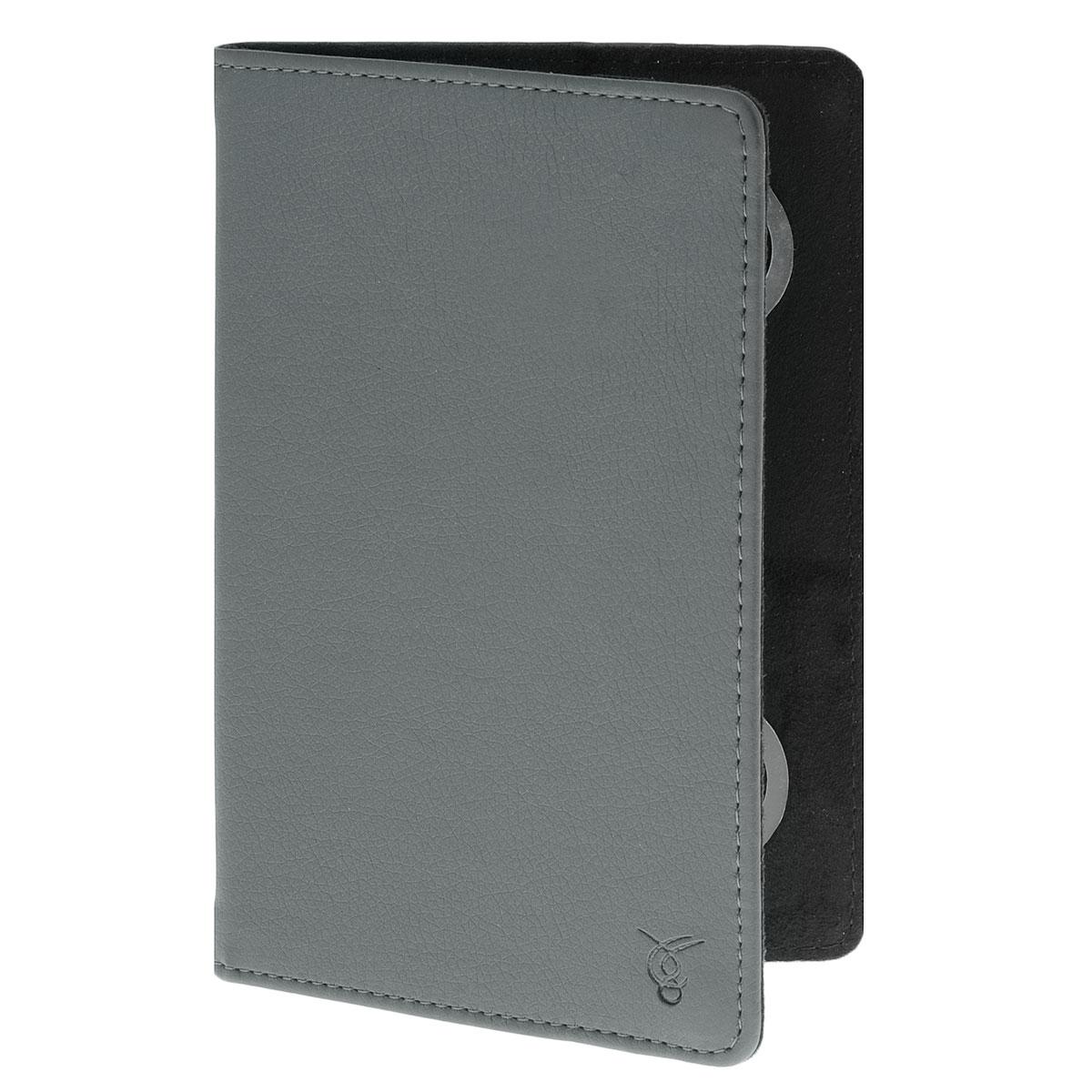 Vivacase Basic чехол для планшетов 7, Gray (VUC-CBS07-gr)VUC-CBS07-grЧехол Viva Basic предназначен для защиты электронных устройств от механических повреждений и влаги. Крепление PVS позволяет надежно зафиксировать устройство.