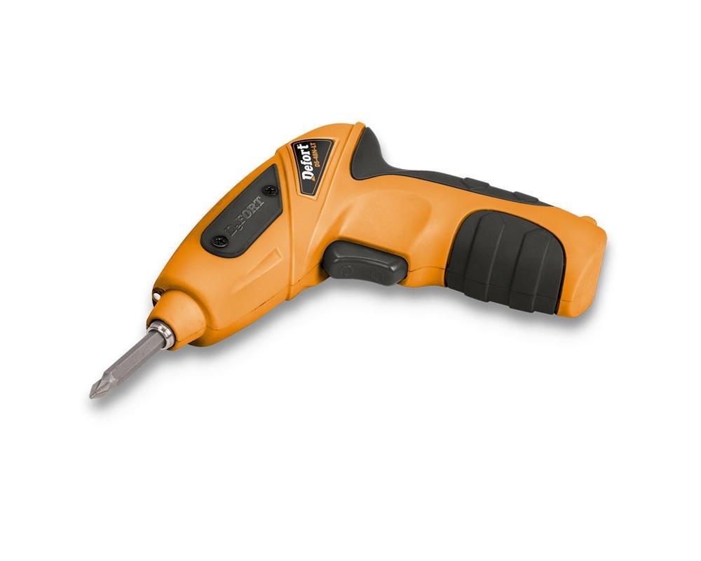 Отвертка аккумуляторная Defort DS-48N-LT, цвет: оранжевый93720049