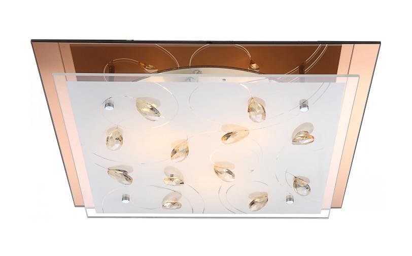 40412-3 AYANA Потолочная люстра40412-3Большой популярностью пользуются настенно-потолочные светильники Globo AYANA 40412-3, покоряя своим разнообразием. Здесь и классика, и современность, и оригинальность, и дизайнерские экземпляры. Настенно-потолочные светильники Globo подойдут для освещения кухни, ванной, прихожей и многих других местах. Изготавливаются настенно-потолочные светильники в виде плафонов (разного цвета и формы) со скрытой лампой, позволяя их устанавливать и на стену и на потолок.