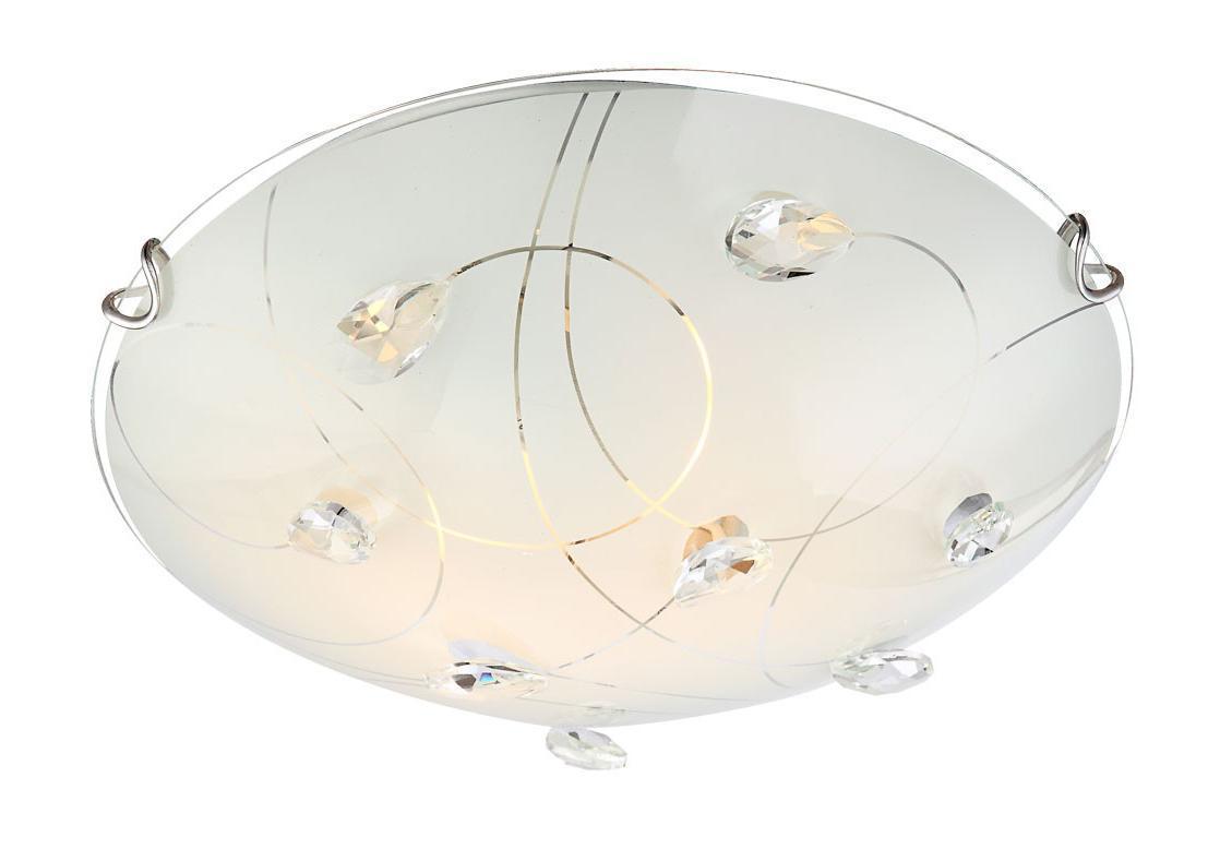 40414-2 ALIVIA Потолочный светильник40414-2Большой популярностью пользуются настенно-потолочные светильники Globo ALIVIA 40414-2, покоряя своим разнообразием. Здесь и классика, и современность, и оригинальность, и дизайнерские экземпляры. Настенно-потолочные светильники Globo подойдут для освещения кухни, ванной, прихожей и многих других местах. Изготавливаются настенно-потолочные светильники в виде плафонов (разного цвета и формы) со скрытой лампой, позволяя их устанавливать и на стену и на потолок.