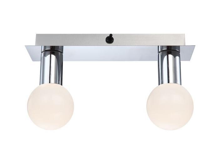 44202-2 SOLIG Спот44202-2У нас Вы можете купить спот 44202-2 коллекции Solig от производителя Globo (Австрия). Споты в стиле модерн достаточно популярны, идеально подойдут при оформлении интерьера спальни. Металлическое основание серого цвета отлично сочетается с плафоном из пластика. Точечный светильник с максимальной мощностью 10W осветит комнату, площадью 2 кв.м. Материал: Арматура: Металл / Плафон: Пластик Цвет: Арматура: Серебристый / Плафон: Матовый Размер: 28х8х16 Материал: Арматура: Металл / Плафон: Пластик Цвет: Арматура: Серебристый / Плафон: Матовый Размер: 28х8х16
