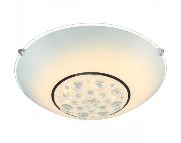 48175-12 LOUISE Потолочный светильник48175-12Светильник globo LOUISE 48175-12 настенно потолочный представлен со светодиодными и люминесцентными лампами, что позволяет экономить потребление электроэнергии при достаточной освещенности. Но компания не ограничивает свое производство выпуском настенно-потолочных светильников, а также выпускает люстры, бра, торшеры, подсветки, а также уличные потолочные и не только светильники. Материал: Арматура: Металл / Плафон: Стекло Цвет: Арматура: Серебристый / Плафон: Матовый Размер: 30х30х11 Материал: Арматура: Металл / Плафон: Стекло Цвет: Арматура: Серебристый / Плафон: Матовый Размер: 30х30х11