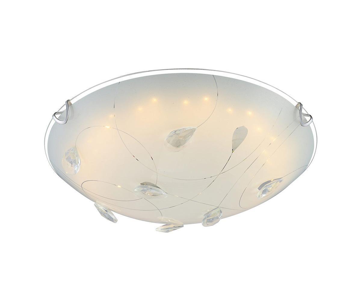 40427 PALILA Потолочный светильник40427Большой популярностью пользуются настенно-потолочные светильники Globo PALILA 40427, покоряя своим разнообразием. Здесь и классика, и современность, и оригинальность, и дизайнерские экземпляры. Настенно-потолочные светильники Globo подойдут для освещения кухни, ванной, прихожей и многих других местах. Изготавливаются настенно-потолочные светильники в виде плафонов (разного цвета и формы) со скрытой лампой, позволяя их устанавливать и на стену и на потолок. Материал: Арматура: Металл / Плафон: Стекло Цвет: Арматура: Серебристый / Плафон: Матовый Размер: 30х30х10 Материал: Арматура: Металл / Плафон: Стекло Цвет: Арматура: Серебристый / Плафон: Матовый Размер: 30х30х10