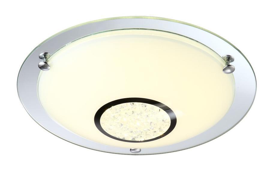 48240 AMADA Потолочный светильник48240Светильник globo MADA 48240 настенно потолочный представлен со светодиодными и люминесцентными лампами, что позволяет экономить потребление электроэнергии при достаточной освещенности. Но компания не ограничивает свое производство выпуском настенно-потолочных светильников, а также выпускает люстры, бра, торшеры, подсветки, а также уличные потолочные и не только светильники. Материал: Арматура: Металл / Плафон: Стекло Цвет: Арматура: Серебристый / Плафон: Матовый Размер: 31,5х31,5х10,5 Материал: Арматура: Металл / Плафон: Стекло Цвет: Арматура: Серебристый / Плафон: Матовый Размер: 31,5х31,5х10,5