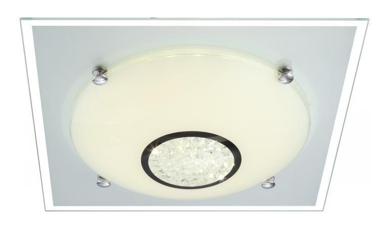 48250 AMADA Потолочный светильник48250Светильник globo AMADA 48250 настенно потолочный представлен со светодиодными и люминесцентными лампами, что позволяет экономить потребление электроэнергии при достаточной освещенности. Но компания не ограничивает свое производство выпуском настенно-потолочных светильников, а также выпускает люстры, бра, торшеры, подсветки, а также уличные потолочные и не только светильники. Материал: Арматура: Металл / Плафон: Стекло Цвет: Арматура: Серебристый / Плафон: Матовый Размер: 33,5х33,5х10,5 Материал: Арматура: Металл / Плафон: Стекло Цвет: Арматура: Серебристый / Плафон: Матовый Размер: 33,5х33,5х10,5