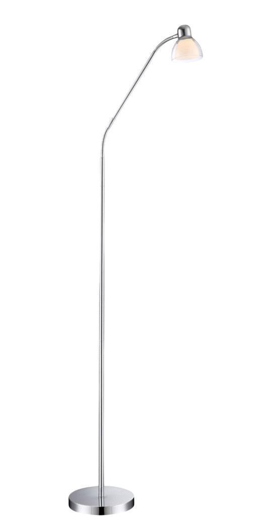 24185 PIXIE Торшер24185Бесспорным лидером в своем сегменте являются торшеры Globo PIXIE 24185. Австрийская компания выпускает одни из самых красивых, надежных и недорогих напольных торшеров, отличающиеся интересными деталями и необычными дизайнерскими решениями. Большая часть моделей выполнена в стиле модерн, находя свое применение в современных интерьерах, однако встречаются торшеры и в классическом варианте, и в стиле флористика, и хай-тек. Практически у всех напольных торшеров Globo можно изменять высоту и угол наклона, тем самым изменяя угол падения света, что очень необычно и удобно.