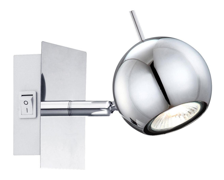 57881-1 OBERON Бра57881-1Споты OBERON 57881-1 в стиле модерн создают теплую, простую и уютную обстановку, отлично впишутся в дизайн спальни. Металлическое основание серого цвета, плафон изготовлен из стекла. Точечный светильник с максимальной мощностью 50W осветит жилое пространство, площадью не более 4 кв.м. Материал: Арматура: Металл / Плафон: Стекло Цвет: Арматура: Серебристый / Плафон: Серебристый Размер: 10х10х10 Материал: Арматура: Металл / Плафон: Стекло Цвет: Арматура: Серебристый / Плафон: Серебристый Размер: 10х10х10