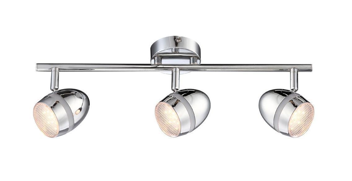 56206-3 MANJOLA Спот56206-3Споты MANJOLA 56206-3 в стиле модерн - идеальный вариант для оформления элегантного интерьера спальни. Металлическое основание серого цвета отлично сочетается с плафоном из пластика. Точечный светильник с максимальной мощностью 3W осветит жилое пространство, площадью не более 1 кв.м. Материал: Арматура: Металл / Плафон: Пластик Цвет: Арматура: Серебристый / Плафон: Прозрачный Размер: 46х8,5х16,2 Материал: Арматура: Металл / Плафон: Пластик Цвет: Арматура: Серебристый / Плафон: Прозрачный Размер: 46х8,5х16,2